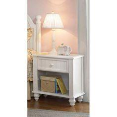 Hillsdale Furniture 1354-772 Westfield Nightstand in Off White