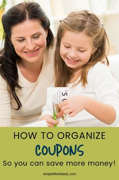 Coupon organization tips so you can make the most of discounts!