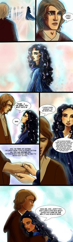 Reunion - an Anakin x Padme comic by lisuli79 on DeviantArt