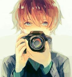 if i ever have a boyfriend, he'll like photography and girls with glasses and be all that kawaii shit girls dream about in a guy<<<--- yep the man that exists In our dreams.and anime. Manga Anime, Boys Anime, Hot Anime Boy, Cute Anime Guys, Manga Boy, I Love Anime, Brown Hair Anime Boy, Sad Anime, Cosplay Anime