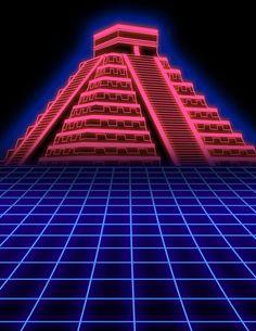 Electro Dance retro movie poster flyer on Behance New Retro Wave, Retro Waves, Art Vaporwave, Vaporwave Wallpaper, Arte Cyberpunk, Retro Background, Neon Aesthetic, Futuristic Art, Glitch Art
