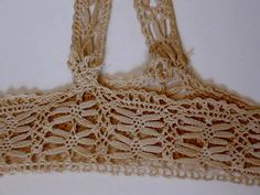 Vintage Bobbin Lace  Bodice for Dress or Night by jonscreations   #Craftshout