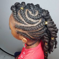 Some more hairstyle inspiration for ya'll! I'm in love with this simple protective style!😍😍😍 She can wear this for two weeks then rock a bombass twistout for a few days after that! Natural Hairstyles For Kids, Kids Braided Hairstyles, Little Girl Hairstyles, Diy Hairstyles, Kids Hairstyle, Hairstyles Pictures, Beautiful Hairstyles, Black Hairstyles, Hairstyle Ideas
