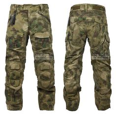 ZAPT Tactical Ripstop Combat Pants with Knee Protector Airsoft Paintball Military Camo Uniform Army Camouflage Trousers Tactical Uniforms, Tactical Shirt, Tactical Wear, Tactical Gloves, Tactical Clothing, Army Cargo Pants, Combat Pants, Combat Gear, Army Surplus Jacket