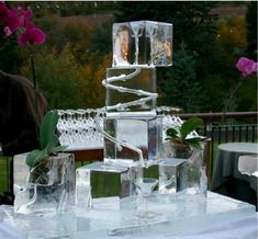 photos of shot luges ice sculptures   Registry Partner: Ice Bars, Luges and Logos