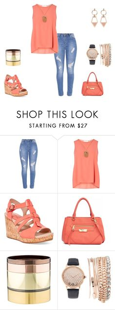 """""""Untitled #1280"""" by carole-hadad on Polyvore featuring Dorothy Perkins, Sperry, Nicole By Nicole Miller, Gemma Redux, Jessica Carlyle and Mix & Match"""