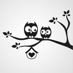 Owl Silhouette for Nursery Silhouette Portrait, Silhouette Art, Silhouette Projects, Grass Silhouette, Stencils, Owl Stencil, Wall Painting Decor, Art Forms, Painted Rocks