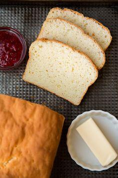 Sem glúten pão branco |  Cozinhar Classy