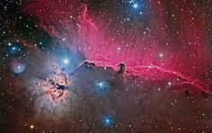 I pinned this Terry Hancock wide-view of the Horsehead Nebula to realize a broader perspective of this region of God's universe. I certainly have a greater appreciation for this magnificent creation, seeing it on this scale.