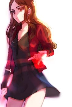 Scarlet witch                                                                                                                                                     More