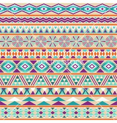 Tribal striped seamless pattern vector 1311081 - by Vodoleyka on VectorStock®