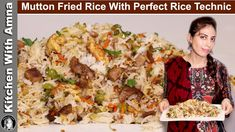 Mutton Fried Rice Recipe with Perfect Rice Technic   Fried Rice Restaura...