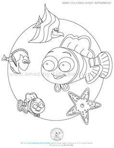 Sheldon Seahorse Finding Dory Coloring Page .pdf Download