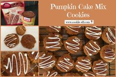 Pumpkin Cake Mix Cookies: ingredients, directions, and special baking tips from The Elf to make the ultimate easy cake mix cookies recipe. Just 2 ingredients! Fruit Cookies, Spice Cookies, Drop Cookies, Cake Mix Cookies, Cupcakes, Drop Cookie Recipes, Cake Mix Cookie Recipes, Two Ingredient Cakes, Pumpkin Deserts