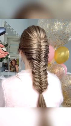 Easy and Quick Hair Tutorials! – Easy and Quick Hair Tutorials! – Easy and Quick Hair Tutorials Braided Hairstyles Tutorials, Easy Hairstyles For Long Hair, Winter Hairstyles, Hairstyles For School, Trendy Hairstyles, Hair Tutorials, Video Tutorials, Braid Hairstyles, Long Hair Styles