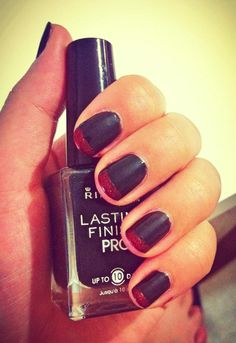 Red; Black; Nail Art