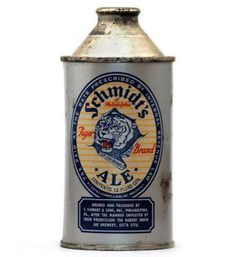 Very old vintage beer cans. Very old vintage beer cans. Brewing Co, Home Brewing, Schmidt Beer, Beer Can Collection, Old Beer Cans, More Beer, Beer Brands, Wine And Liquor, Wine And Spirits