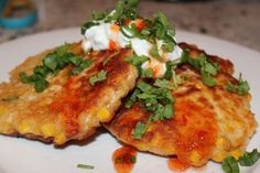 Corn Fritters with a modern twist — Recipe Crusader