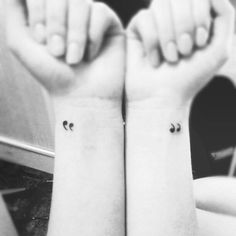 "fuckyeahtattoos:    ""I carry a quotation mark to the left and right of me,"" said one of my favorite authors. Why quotes? When we say ""good"" or ""bad"" so quoted, means that it is not exactly what it seems. It means that the appearance, which is not exactly seem that we are .. ""What is essential is invisible to the eye.""      I really like this as a tattoo"
