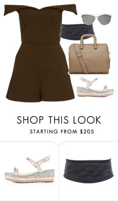 """""""Untitled #2741"""" by erinforde ❤ liked on Polyvore featuring Christian Louboutin"""