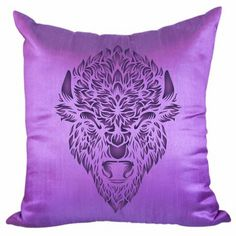 Bison Head Stencil Wallpaper Stencil, Stencils, Craft Ideas, Throw Pillows, Crafts, Collection, Cushions, Manualidades, Diy Ideas