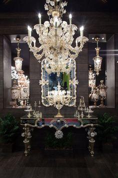 Seguso murano chandelier