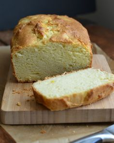 Vanilla Bean Olive Oil Quick Bread Recipe