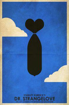 Dr. Strangelove Minimal Poster by Tim Costello