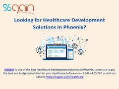 Sisgain simplifies healthcare with customized medicare application and software. We have more than years of experience in serving healthcare industries globally. Latest Technology, Software Development, Phoenix, Budgeting, Health Care, Medical, How To Get, Website, Medicine