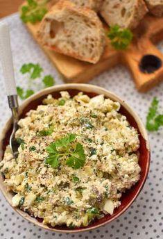 Pasta twarogowa z wędzoną makrelą Polish Recipes, Polish Food, Bread, Cooking, Diet, Kitchen, Polish Food Recipes, Brot, Baking