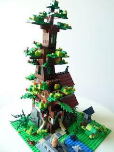 Lego Treehouse!
