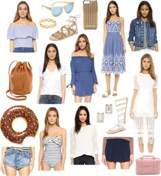 Spring and summer essentials, all under $150! Plus there is a 25% off sale going on right now!
