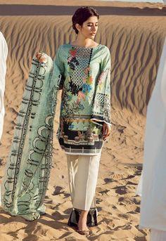 Top Pakistani Lawn Brands Designer Dresses Collections consists of latest designs by famous brands of Pakistan like elan, rungrez, cross stitch, etc Pakistani Models, Pakistani Fashion Casual, Pakistani Dresses Casual, Pakistani Dress Design, Casual Dresses, Summer Dresses, Pakistani Lawn Suits, Designer Kurtis, Designer Dresses