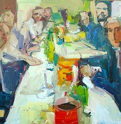 Italy, 2016 | Oil on canvas | 24 x 24 inches Jennifer Pochinski