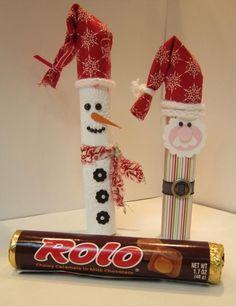 Basteln mit Süßigkeiten! Schöne Bastelideen mit Kindern für Weihnachten! - Seite 11 von 11 - DIY Bastelideen