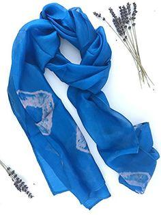 Cashmere Silk Scarf - Heartfelt Silk Scarf by VIDA VIDA IalxR