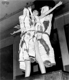 Piero Gilardi, Vestito Natura Betulle, 1967
