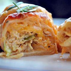 Simply Sour Cream Chicken Enchiladas (No canned soup!)