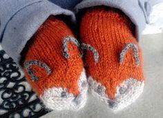 Fox mittens  kaksneljaseitteman.blogspot.fi