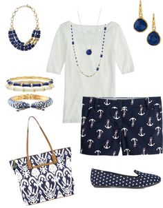 """""""Nautical"""" by randimanning on Polyvore"""