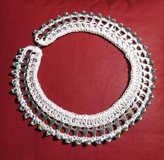 Pull Tab Necklace with pearls