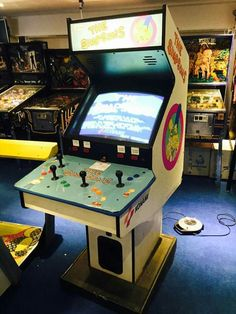 4 player Simpsons arcade game