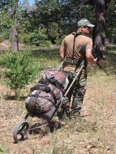 The Dixon Rollerpack is ideal when carrying heavier loads for hunting, fishing, photography, mountain climbing gear etc.. i can see this being really handy if you have a really heavy bug out bag. This could possibly carry all of your family's needs if you were to bug out.