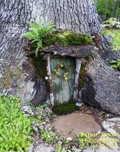 garten baum Best Cost-Free fairy garden doors Suggestions There is certainly num. - garten baum Best Cost-Free fairy garden doors Suggestions There is certainly numerous amazing fairy - Fairy Tree Houses, Fairy Garden Houses, Gnome Garden, Garden Trees, Fairy Village, Meadow Garden, Fairies Garden, Fairy Garden Doors, Fairy Doors On Trees