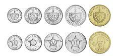 Cuba,  set of 5 uncirculated coins
