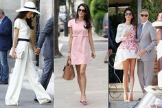 Amal Clooney has a personal style that is both sophisticated and playful. From the courtroom to the red carpet—and every occasion in between—take a closer look at our favorite looks. Casual Work Outfits, Work Casual, Long Leather Skirt, Lawyer Fashion, Amal Clooney, George Clooney, Style Matters, Street Style Looks, Nice Dresses