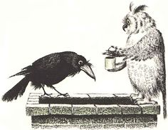 'The Crows Of Pearblossom'  ALDOUS HUXLEY and ILLUSTRATED BY SOPHIE BLACKALL