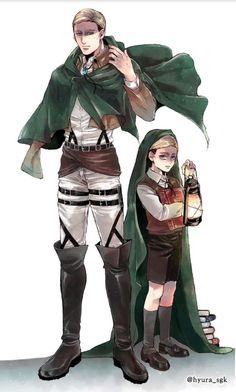 Erwin Smith Shingeki no Kyojin Armin, Levi X Eren, Levi Ackerman, Manga Anime, Fan Fiction, Dracula, Levi And Erwin, Kirara, Eruri