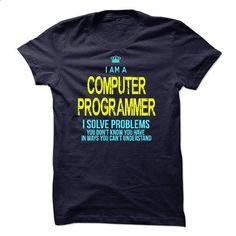 Im A/An COMPUTER PROGRAMMER - #polo t shirts #shirts for men. CHECK PRICE => https://www.sunfrog.com/LifeStyle/Im-AAn-COMPUTER-PROGRAMMER-22838155-Guys.html?60505