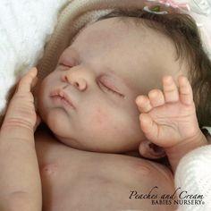 "Peaches And Cream NEW RELEASE L/E ""Linus"" Gudrum Legler~ Reborn Baby Girl Elly   eBay"